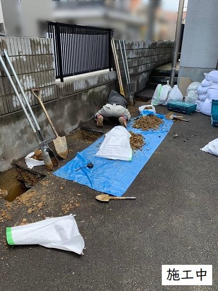宝塚市 事業所 駐輪スペース設置工事イメージ06