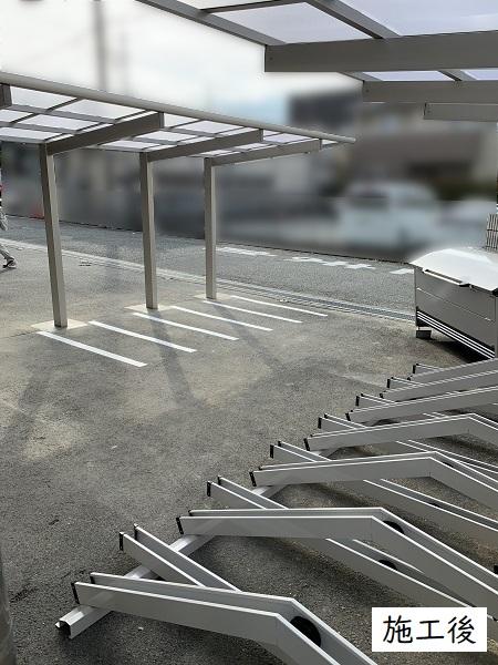 宝塚市 事業所 駐輪スペース設置工事イメージ02