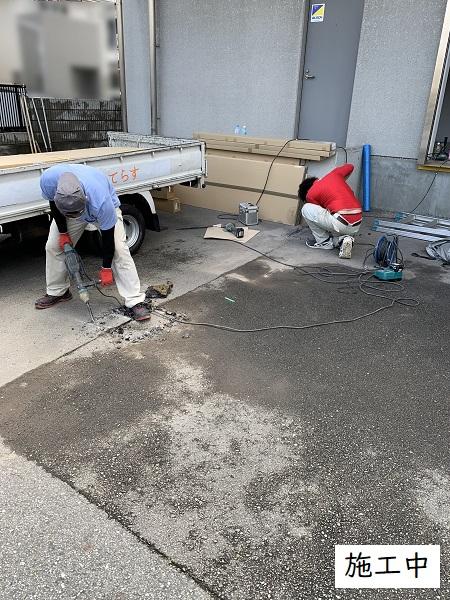 宝塚市 事業所 駐輪スペース設置工事イメージ05