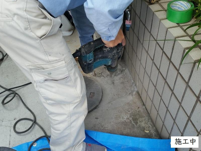 宝塚市 浴室排水管修繕工事イメージ03