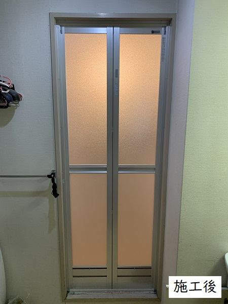 宝塚市 各種修繕工事(洗面台,浴室ドア,台所引出し)イメージ03