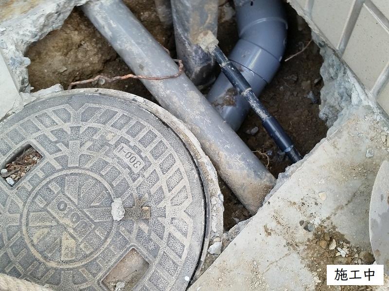 宝塚市 浴室排水管修繕工事イメージ07