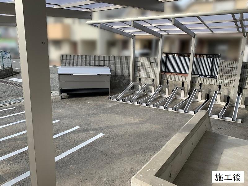 宝塚市 事業所 駐輪スペース設置工事イメージ04