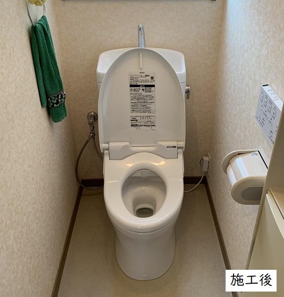 宝塚市 トイレ取替工事イメージ02
