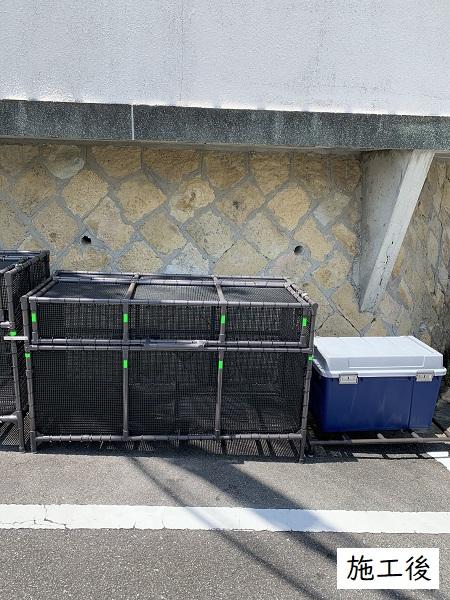 西宮市 ゴミステーションボックス設置工事イメージ04