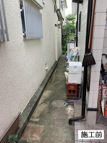 宝塚市 犬走り門扉設置工事イメージ02