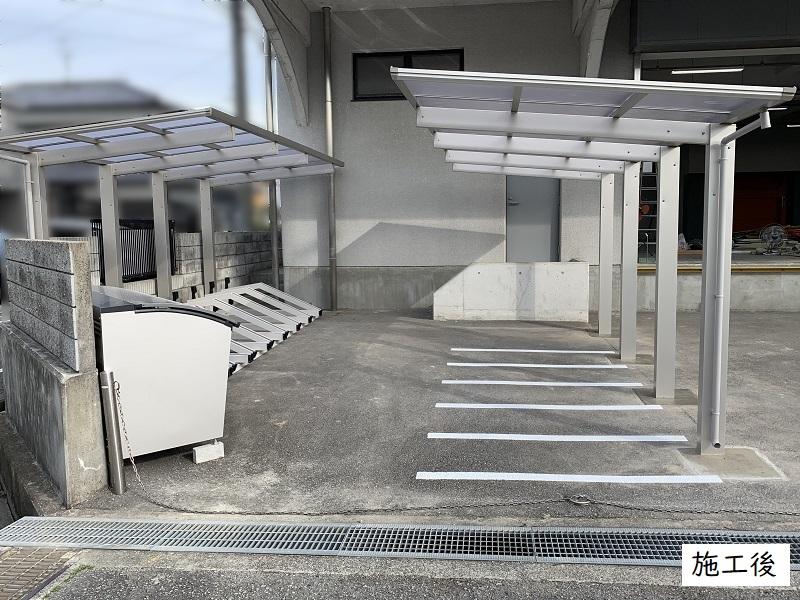 宝塚市 事業所 駐輪スペース設置工事イメージ03