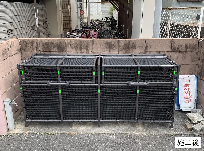 伊丹市 ゴミステーションボックス設置工事イメージ01