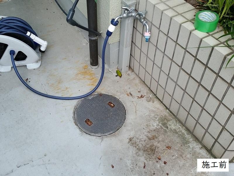 宝塚市 浴室排水管修繕工事イメージ02