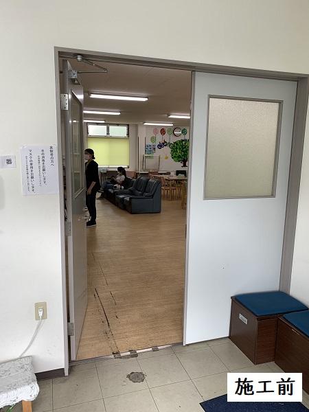 宝塚市 福祉施設 ロール網戸設置工事イメージ03