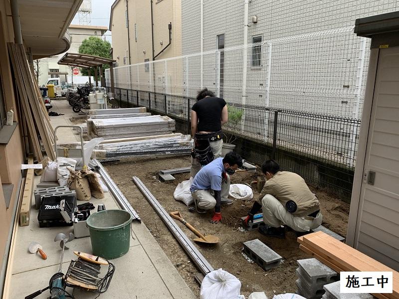 宝塚市 福祉施設 収納庫設置工事イメージ05