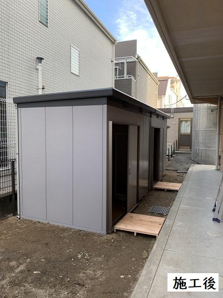 宝塚市 福祉施設 収納庫設置工事イメージ01