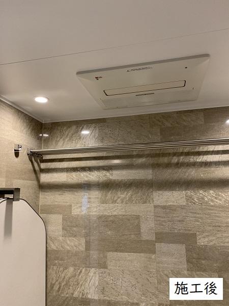 宝塚市 水廻りリフォーム(浴室ユニット・洗面台・シャワー室の扉)工事イメージ03