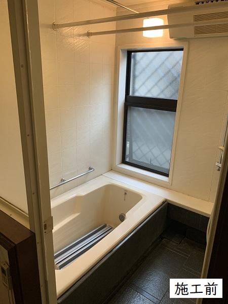 宝塚市 水廻りリフォーム(浴室ユニット・洗面台・シャワー室の扉)工事イメージ08