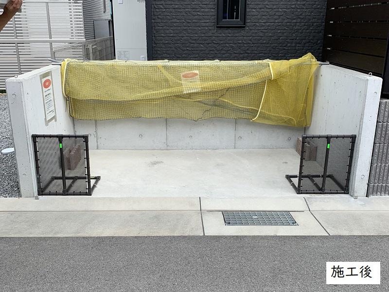 神戸市 自治会 ゴミステーション改修工事イメージ01