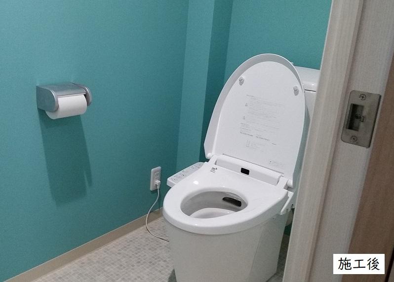 宝塚市 店舗 トイレ・流し台新設イメージ01