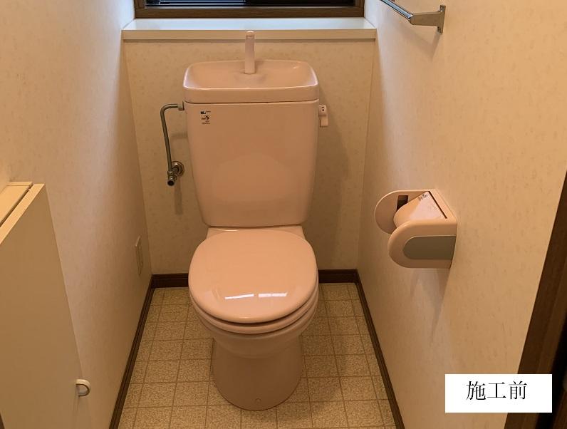 宝塚市 トイレ取替工事|節水型トイレイメージ02