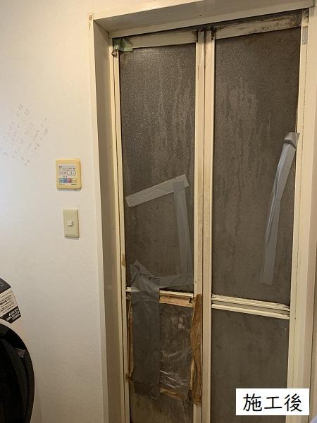 宝塚市 マンション 内装改修工事(洗面脱衣所,浴室ドア)イメージ05