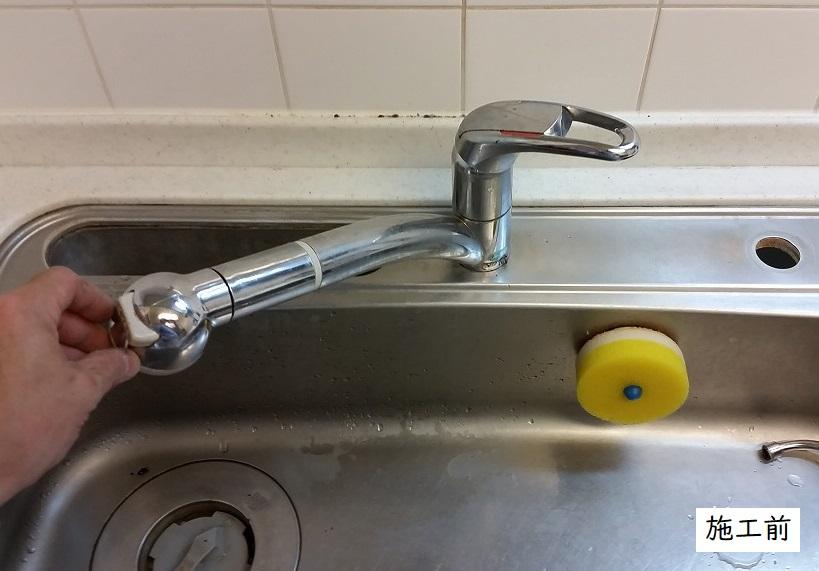 宝塚市 キッチン・洗面所水栓取替(センサー式タッチレス水栓)イメージ02