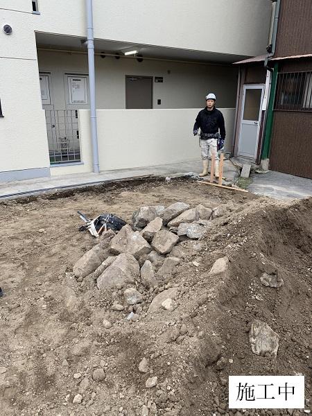 池田市 駐車場整備工事イメージ04