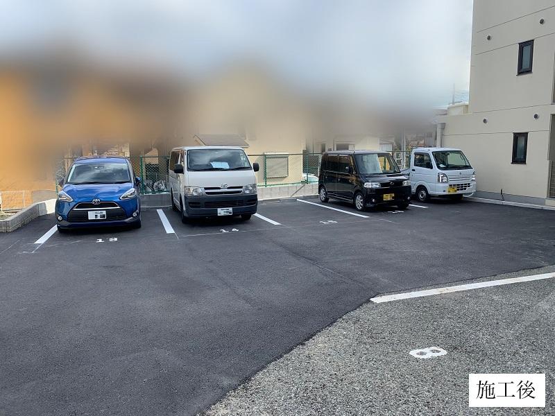 池田市 駐車場整備工事イメージ01