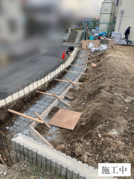 池田市 駐車場整備工事イメージ05