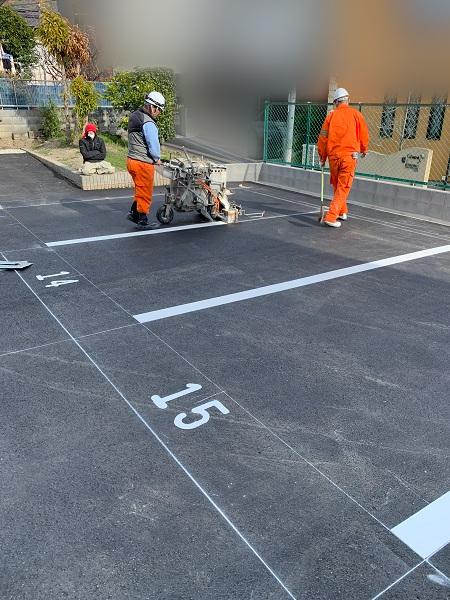 池田市 駐車場整備工事イメージ08