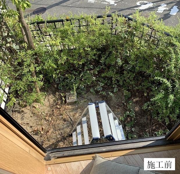 宝塚市 樹脂ウッドデッキ設置工事イメージ03