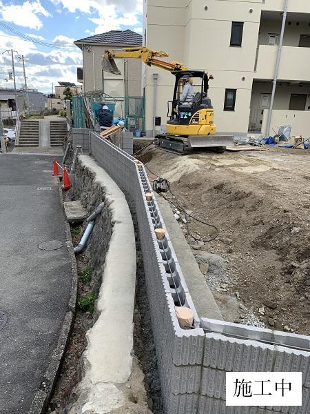 池田市 駐車場整備工事イメージ06