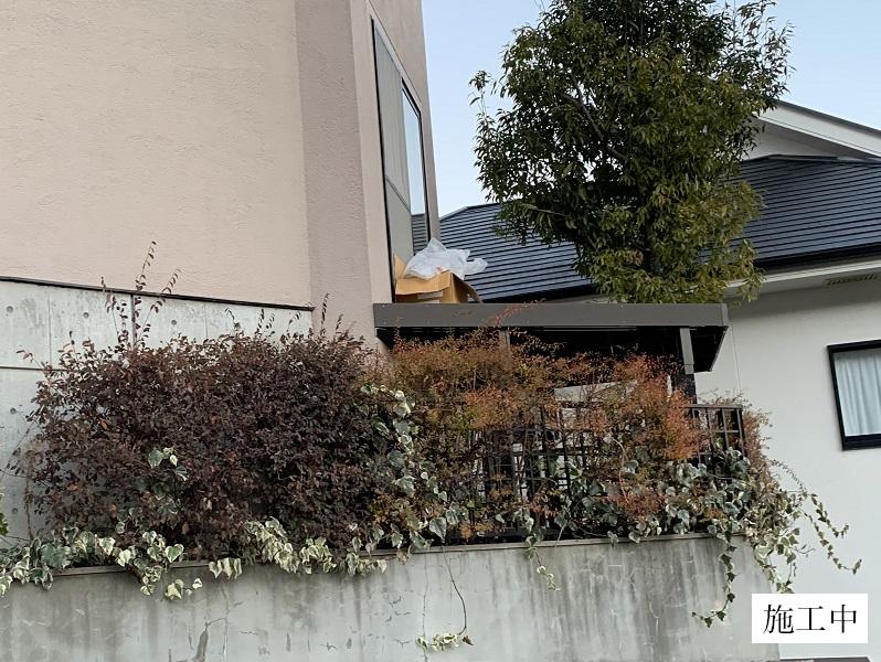 宝塚市 樹脂ウッドデッキ設置工事イメージ06