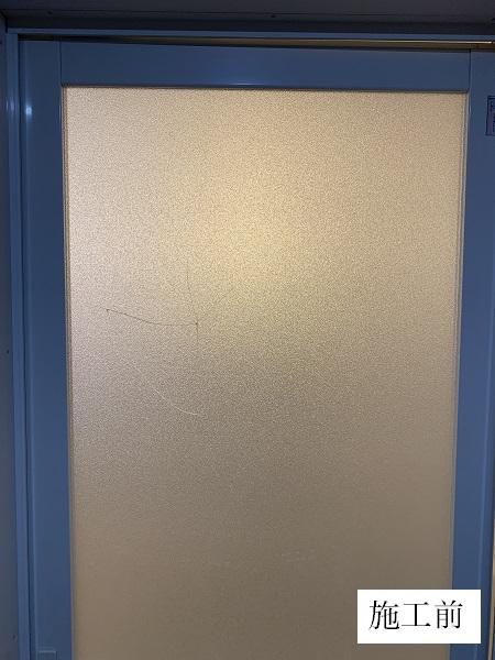 宝塚市 浴室ドア修繕工事イメージ02
