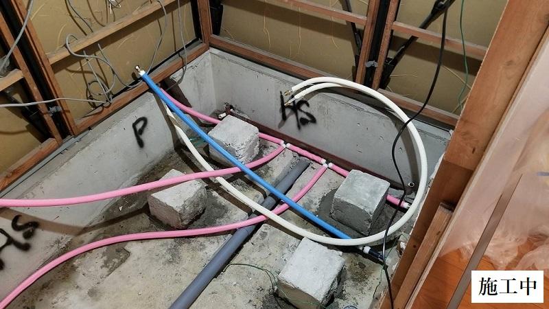 西宮市 ユニットバス入替・給湯機取替工事(浴室乾燥機あり)イメージ06