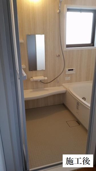 西宮市 ユニットバス入替・給湯機取替工事(浴室乾燥機あり)イメージ01