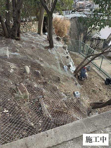 宝塚市 マンション 斜面改修工事イメージ06