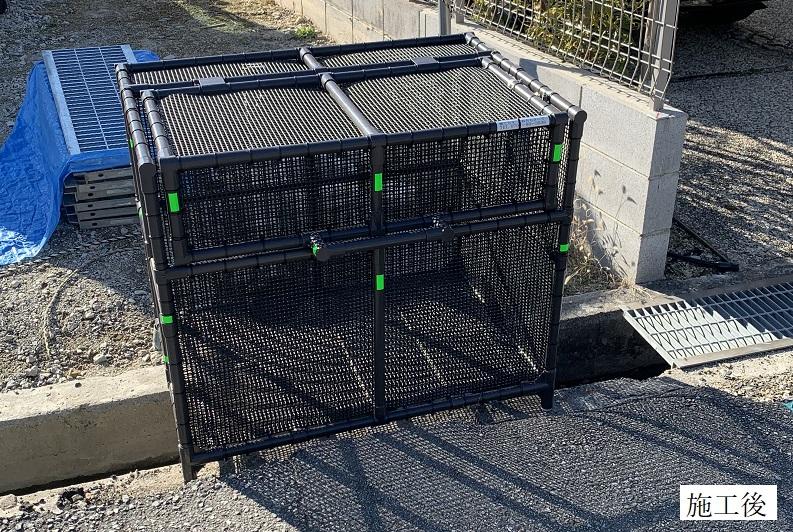 宝塚市 ゴミステーションボックス設置イメージ01