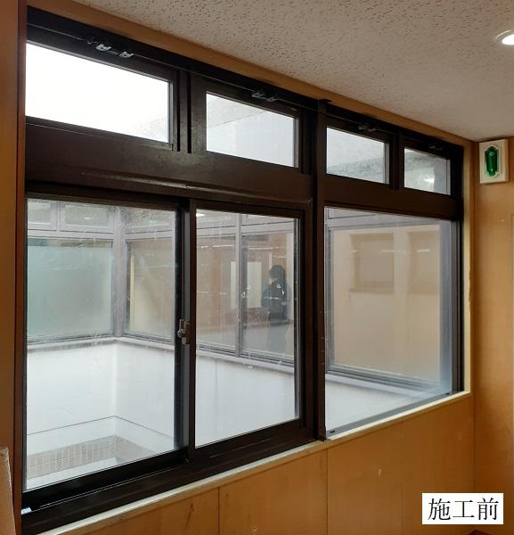 宝塚市 福祉施設 ガラスフィルム貼工事イメージ02