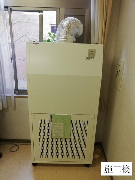 宝塚市 高齢福祉施設 簡易陰圧装置設置工事イメージ01
