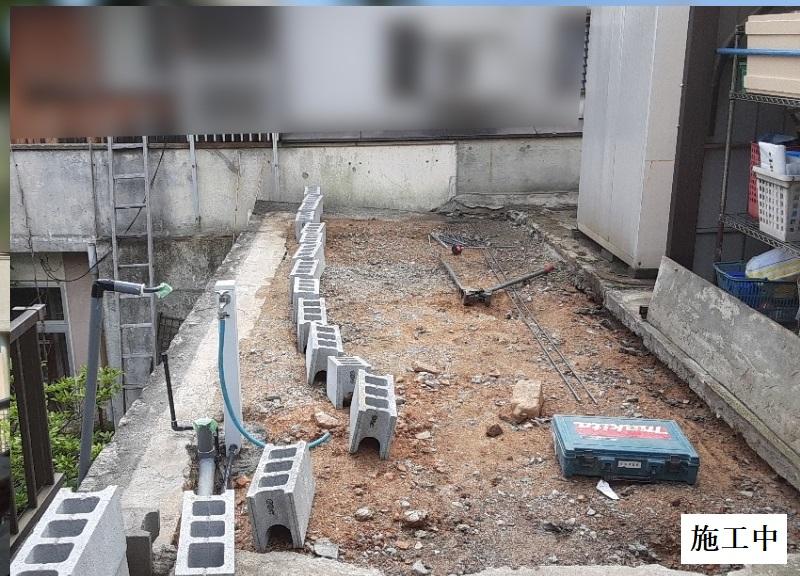宝塚市 納屋解体・土間修繕・フェンス・風除け設置イメージ07