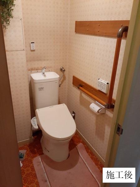 宝塚市 水廻りリフォーム工事 浴室・トイレ・給湯器イメージ02