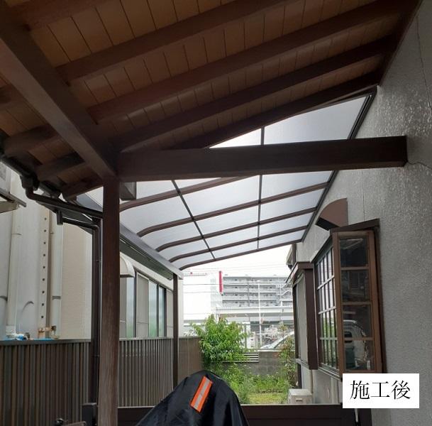 宝塚市 テラス屋根設置工事イメージ04