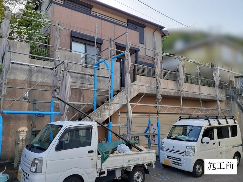 宝塚市 外装工事|外壁塗装・フェンス設置イメージ04