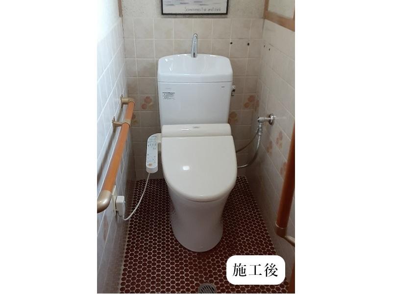 伊丹市 トイレ取替工事イメージ01