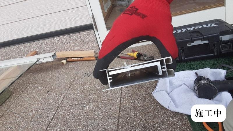 宝塚市 保育園 玄関ドア修繕イメージ05