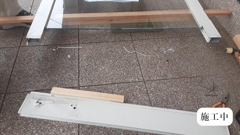 宝塚市 保育園 玄関ドア修繕イメージ04