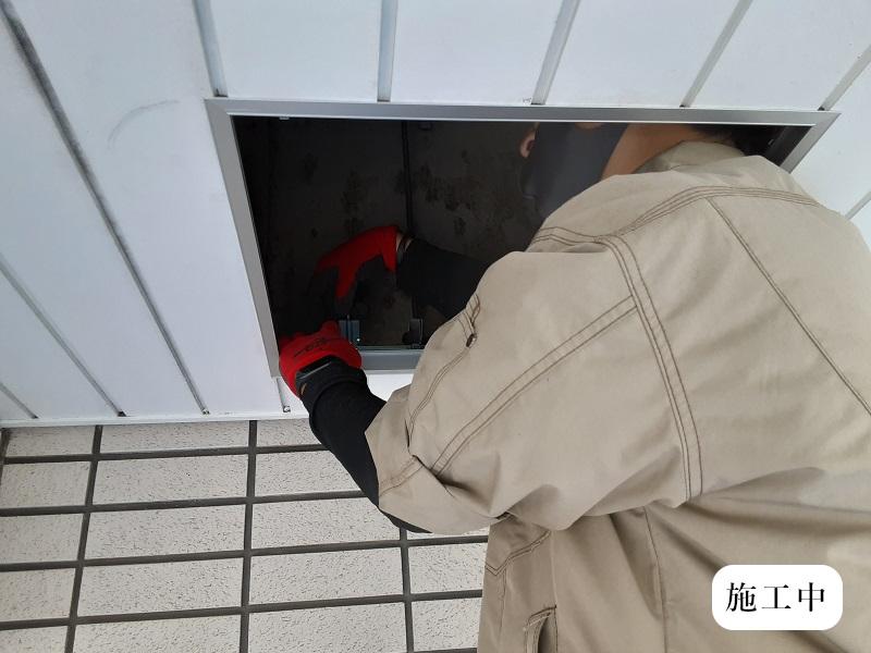 宝塚市 商業施設 天井点検口設置工事イメージ07
