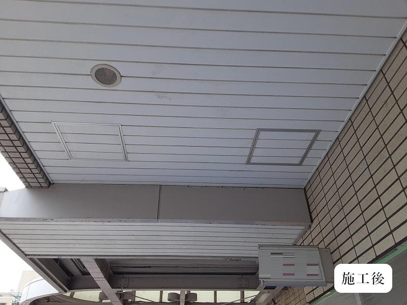 宝塚市 商業施設 天井点検口設置工事イメージ01